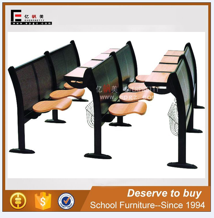 Modern folding table chairs for college classroom