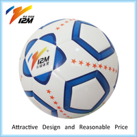 Official size 5 cheap pvc football/soccer ball for wholesale