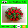 Low price quick delivery artificial fruit strawberry