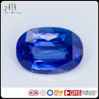 Natural Blue Sapphire Gemstone 10.70 X 7.52 Big Gems Stone for Fine Jewellery