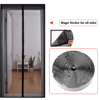 diy hanging decorative magnetic mosquito net insect door curtain Super pretty butterfly style curtain