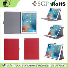 Rotating Tablet Case Ultra Thin Design Leather Flip Cover For iPad Pro