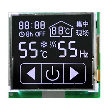 Custom touch panel LCD display module