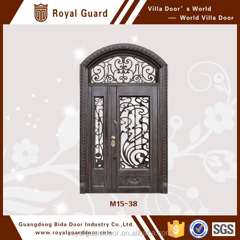 House interior doors/Glass insert Design drawing room door
