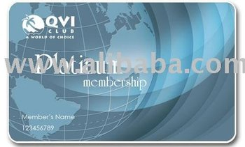 Platinum Vacation Club Membership card