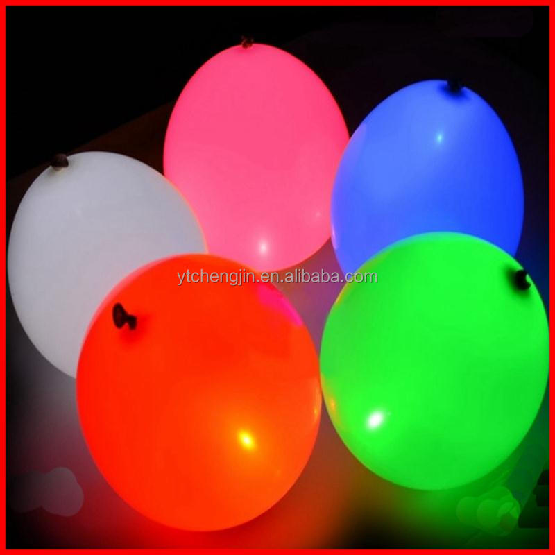 Professional reusable led inflatable balloon for christmas decoration