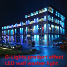 outdoor IP65 RGB led wall washer light with CE ROHS 2 warranty years