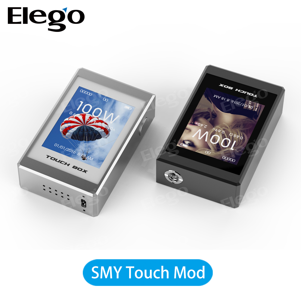 EBest Supplies 100% Original Best Quality SMY 100W Touch TC Box Mod Variable Wattage VW Ecig Smy 170 tc Box Mod