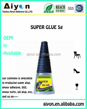 100 CA superior quality super glue,fast setting time glue