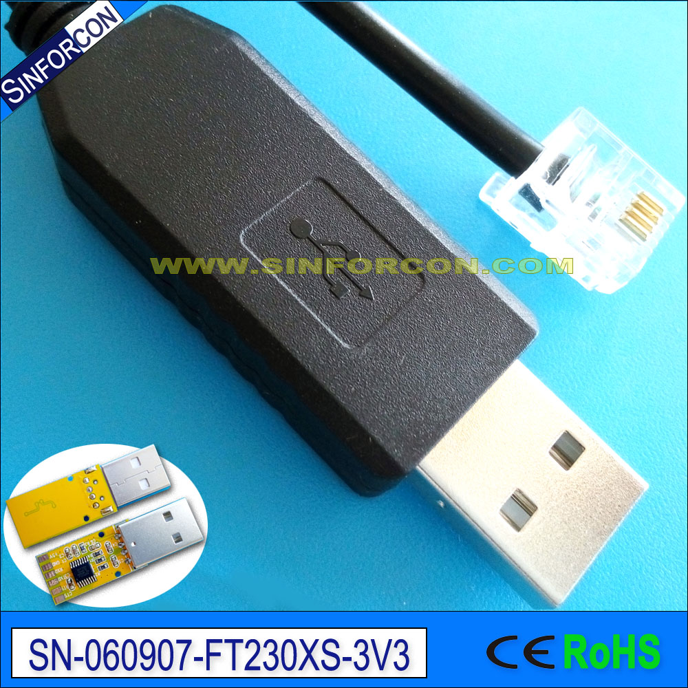 ftdi ft232rl usb uart ttl inverted <strong>cable</strong> for smart meter serial <strong>cable</strong>