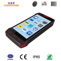 New design 5.0inch smart mobile phone free sdk nfc hf uhf rfid reader writer grand technology barcode scanner android