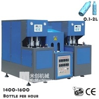 MIC-8Y micmachinery semi automatic plastic bottle blowing machine of pet bottle blowing machine with CE