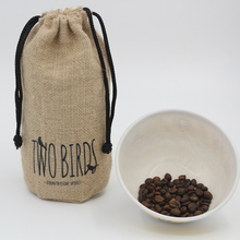 2017 hot sale coffee bean packing jute bag for rice