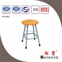 Round/Flat Stool.school furniture;school chair;