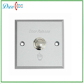Aluminum panel access control door release exit button & door push switch