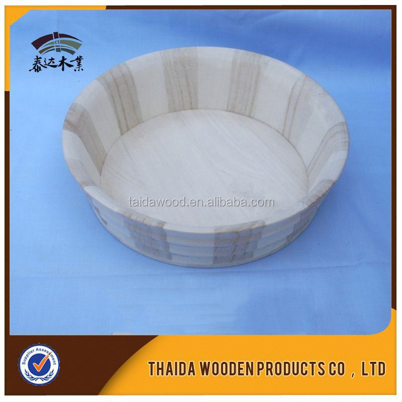 Hotel Articles Dinnerware Solid Wood Tray Made In China