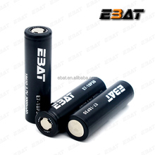 EBAT vape battery 3000 mah 3.7v li-mn imr18650 30 amps for electric motor segway