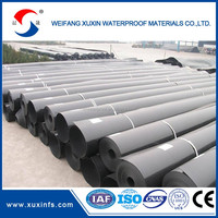 1.2mm thickness HDPE geomembrane liner price for fish farming