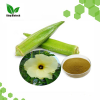 abelmoschus esculentus powder high quality okra extract