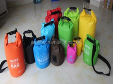 50L Waterproof folding bag, with single 3.8CM 600D belt,500D PVC Tarpaulin for travel/fishing/outdoor
