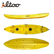 Wholesale 2+1 sit on top 3 person kayak for fishing