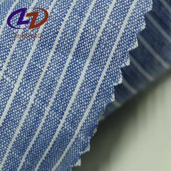 Best Sale 100% Linen Stripe Fabric For Shirts
