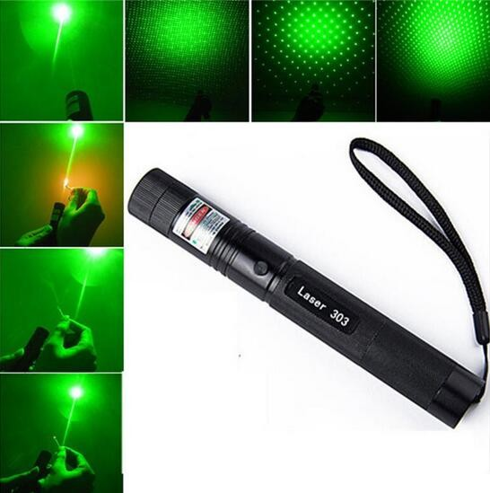 Powerful Green Laser Dot Sight, Military Tactical Hungting Green Laser Scope, Green Laser Pointer Presenter Pen Aiming Sight
