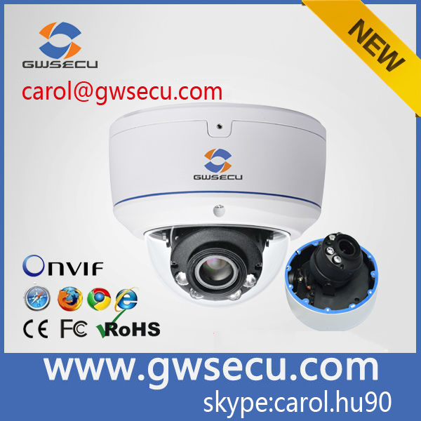 HD Dome 2.8-12mm varofocal lens 2MP Sony wdr ip cctv camera home monitor