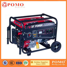 7.0kw High Efficiency Recoil Electric portable diesel power generator,diesel power generators