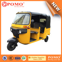 Bajaj Style 2016 Tuktuk Passenger Tricycle With Strong Bracket