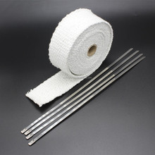 China Manufacturer Exhaust Insulating Ceramic Heat Wrap