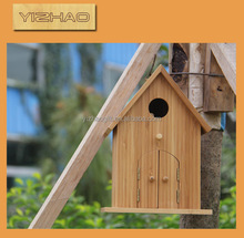 China supplier hot sell wooden bird house for sell,wicker bird houses