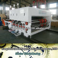 YFQ Flexo 1-4 color Water Ink Printing Slotting Die-cutting and stacking Machine