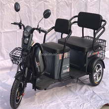 electric tricycle with passenger seat standing