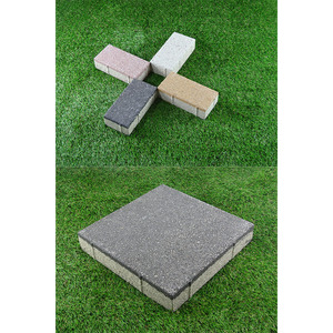 Water absorbing/ non slip ceramic water permeable brick/brick facade