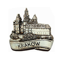 Krakow 3d fridge magnets Poland souvenirs