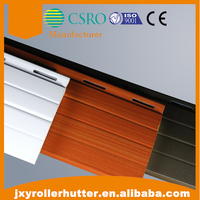 aluminum remote control roller shutter with 55mm bars