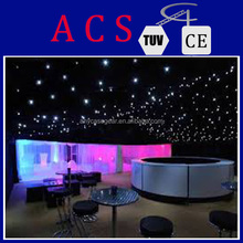 White color starlit cloth light for spectacular theater ,led star vision curtain,Newly Wholesale LED Starlight Backdrop