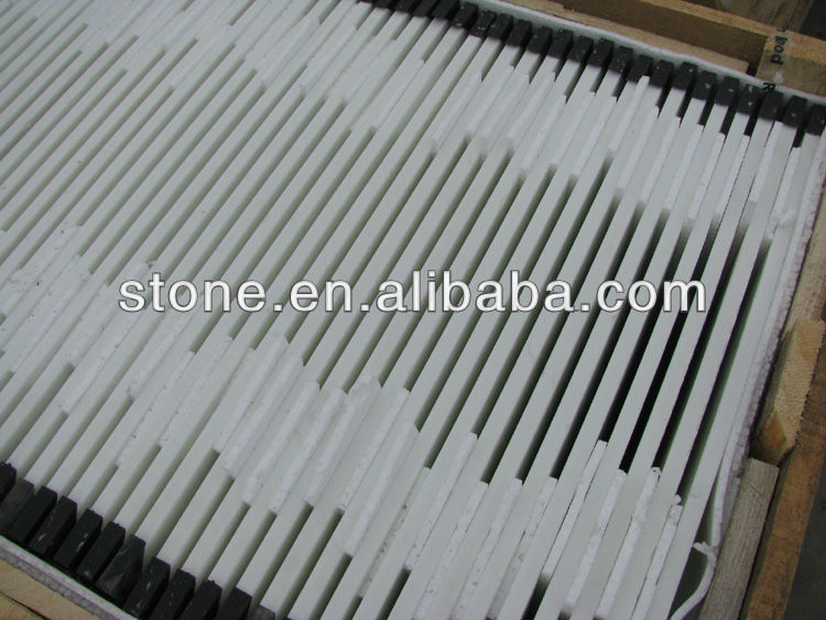 Super white nano crystal white glass tile 10mm 12mm 18mm 30mm