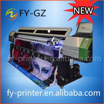 2015 New UV 3.2M wide printer roll to roll from Galaxy