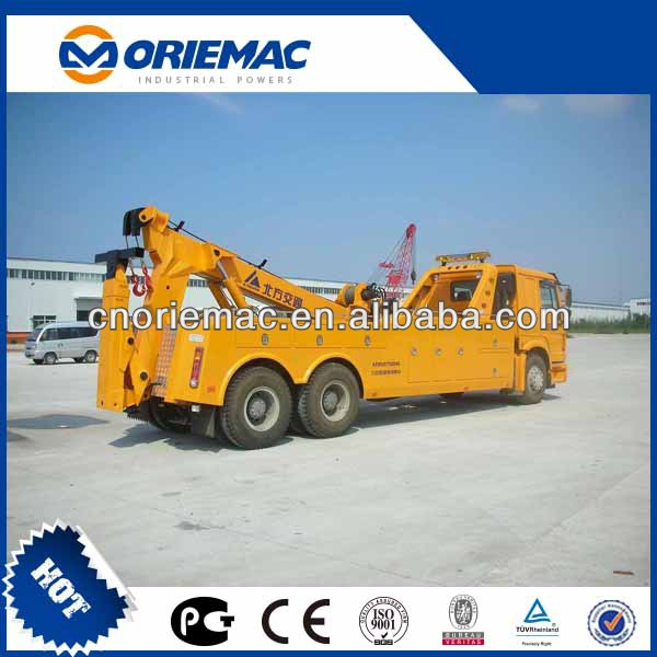 China 50 ton wrecker towing truck KFM5257TQZ08S