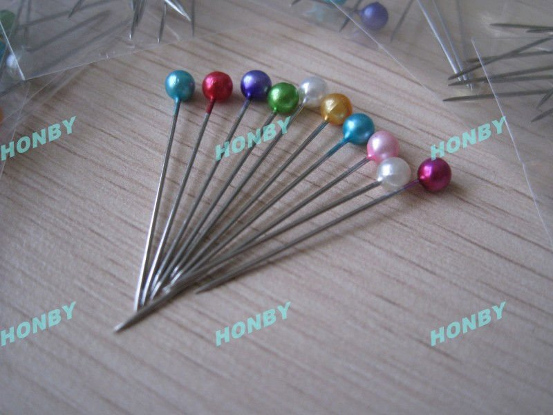 Variety Colors Stainless Steel Ball Head Pin