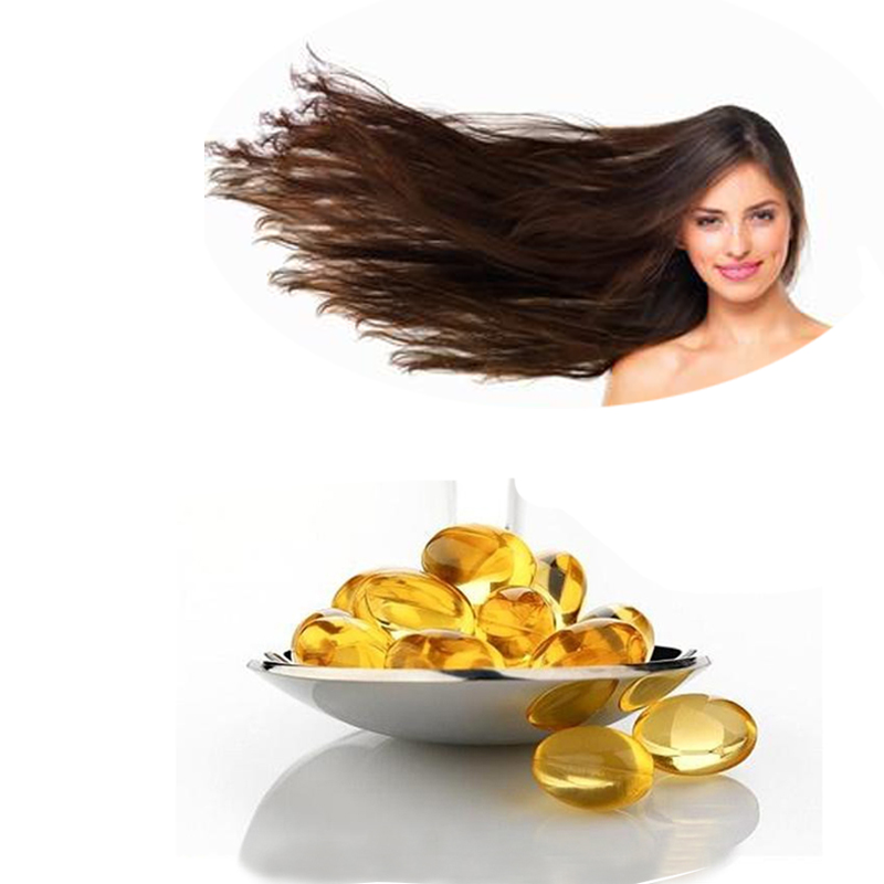 Make the hair thicker vitamin e softgel capsules