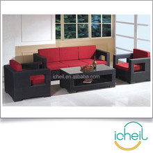 Rattan Cube Sofa Set Outdoor/Indoor Furniture/Garden Wicker Sofa