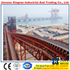 hydraulic truck unloader carbon steel belt conveyors efficient cement rubber belt conveyor