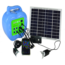Protable Solar System For Home Lighting,Charge For Mobile