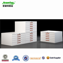Guangzhou Jeanter metal furniture drawer map cabinet/industrial chest of drawers steel map cabinet/map storage cabinet