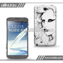 Cell phone cover fit for Samsung galaxy note2 cases