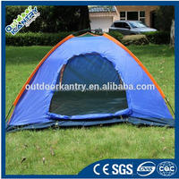 Good quality Flytop double layer 2 person 4 season aluminum rod outdoor camping tent