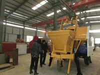 new beton mixer trailer pump from China for hot sales